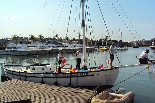 Nosso veleiro Iemanjá