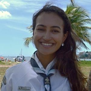 Aline Amaral, assistente de chefia de volta às atividades