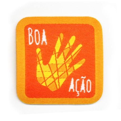 insígnias de envolvimento na comunidade - Lobinho_insígnia_boa_acao
