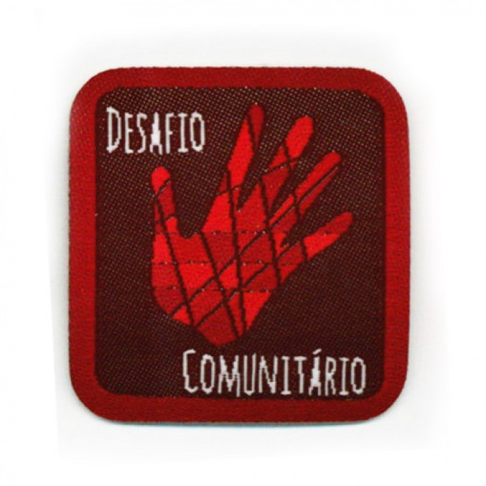 insígnias de envolvimento na comunidade - Senior_insígnia_desafio_comunitario