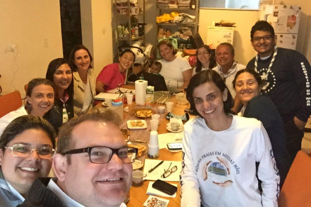 Selfie da Reunião de Chefia de 11/6/2016