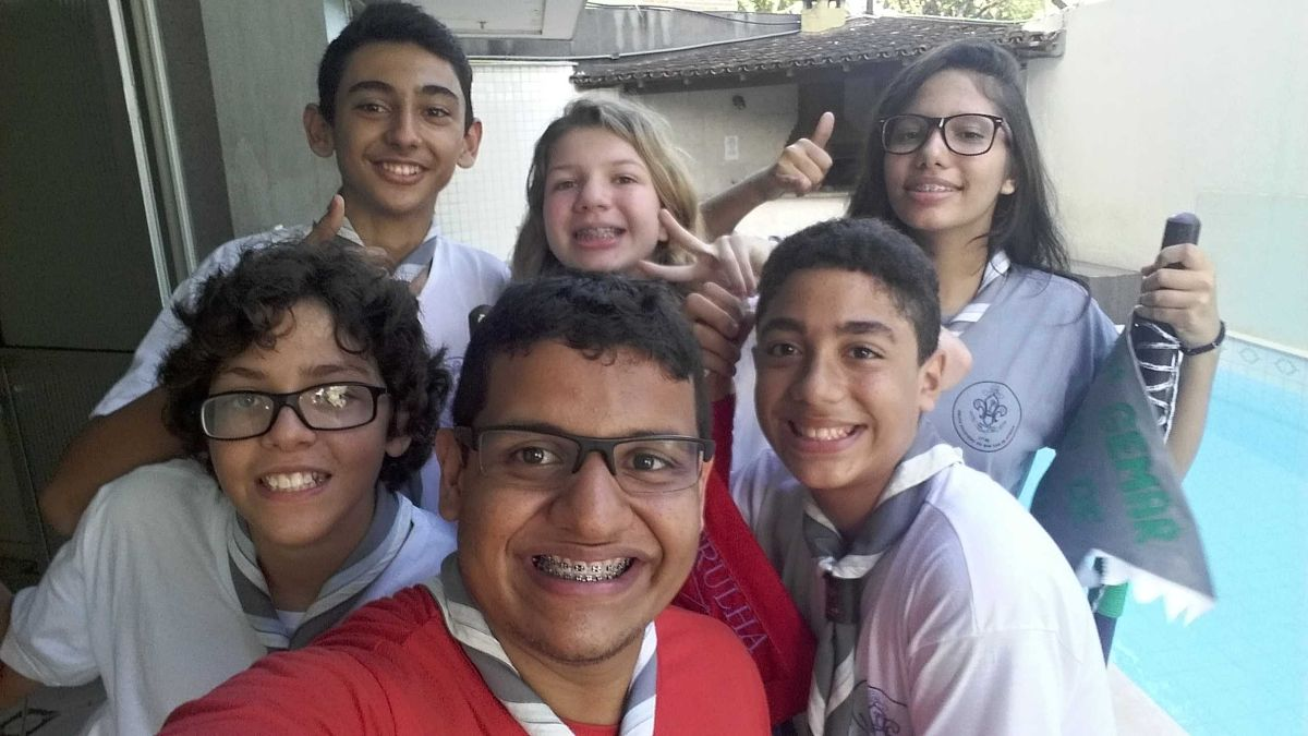 Corte de Honra - Selfie