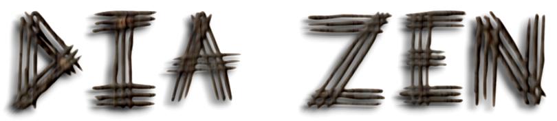 dia_zen_3d_wooden_text_effect