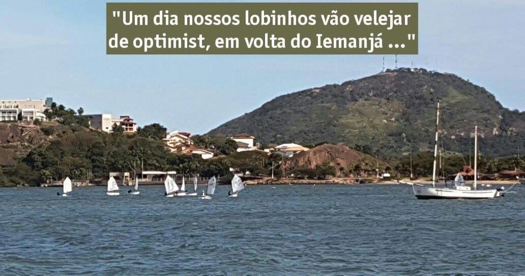 Optimists em volta do Iemanjá
