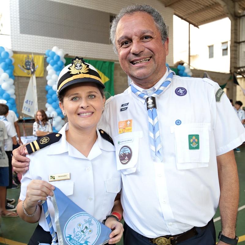 Primeiro Tenente Telviana e Jodelson