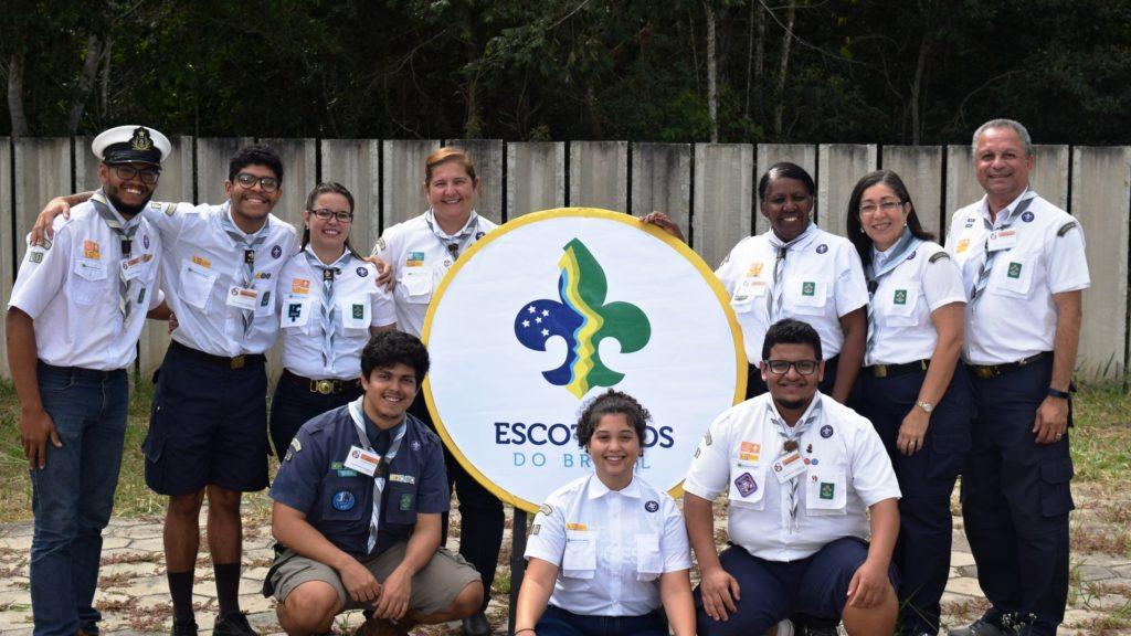 Formamos a maior delegação do Indaba Regional Escoteira 2017