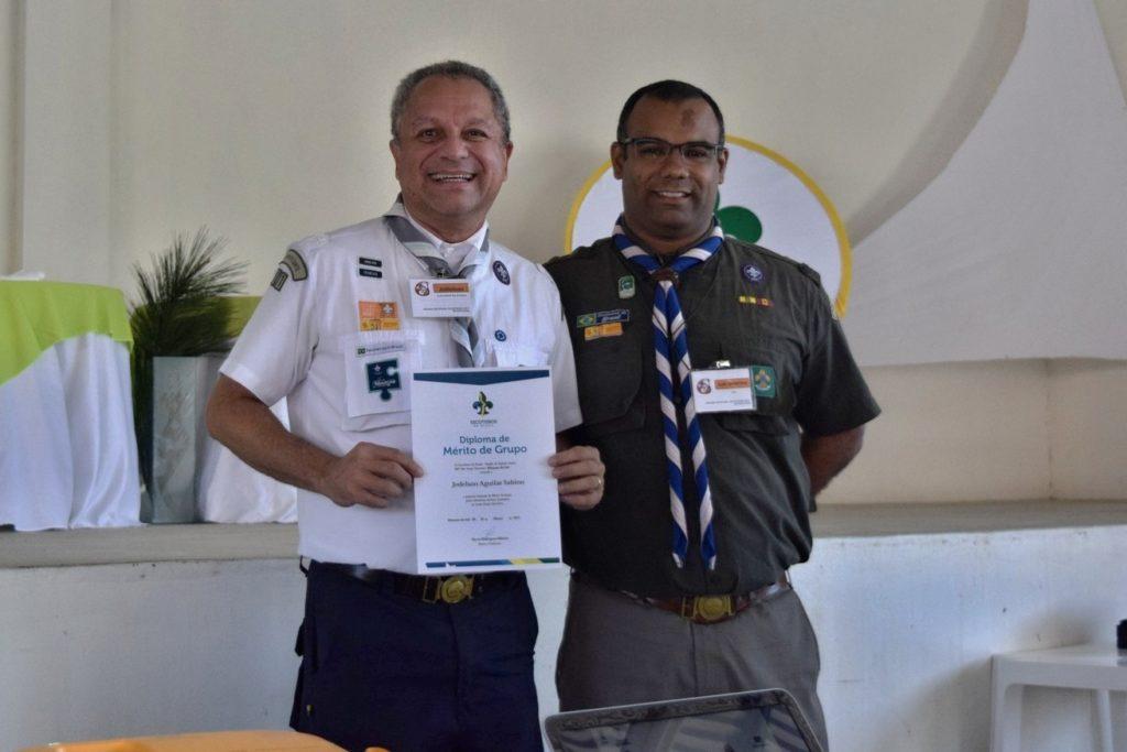 Jodelson Sabino recebe Diploma de Mérito de Grupo