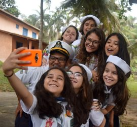 Selfie no ELO