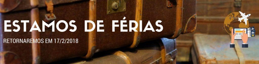 ESTAMOS DE FÉRIAS